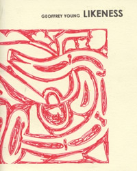 Cover to Geoffrey Young's chapbook Likeness