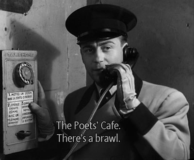 Poet's Cafe-There's a brawl!